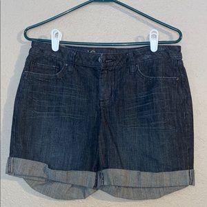 Size 10 LC Lauren Conrad Blue Jean Shorts